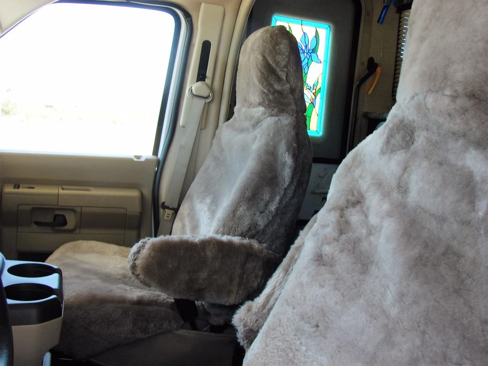 Sheepskin Seat Covers For Airplane